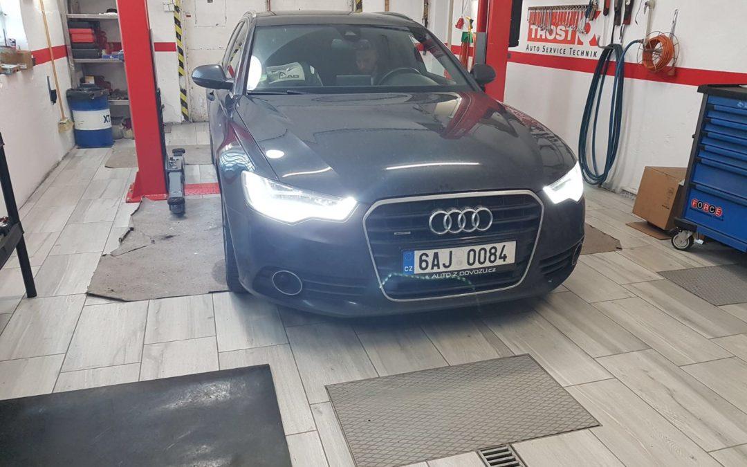 Audi A6 Avant, příprava na zimu
